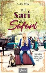 Mit Sari auf Safari