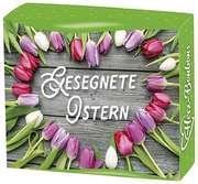 Herz-Bonbons: Gesegnete Ostern