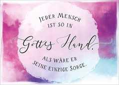 "Postkartenserie ""Gottes Hand"" - 10 Stück"