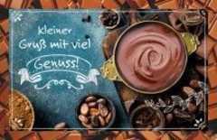 Schokokarte - Kleiner Gruß mit viel Genuss!