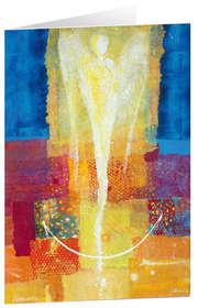Lichtgestalt I - Kunst-Faltkarten ohne Text (5 Stück)