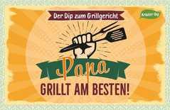 Kräuter-Dip-Karte - Papa grillt am besten!
