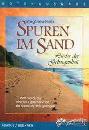 Spuren im Sand, Text- und Notenausgabe