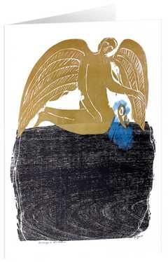 """Kunstkarten """"Umsorgender Engel"""" - 5 St."""