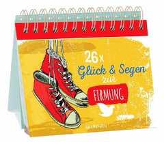 26x Glück und Segen zur Firmung - Aufstellbuch