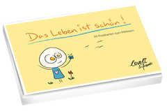 Das Leben ist schön - Postkartenbuch
